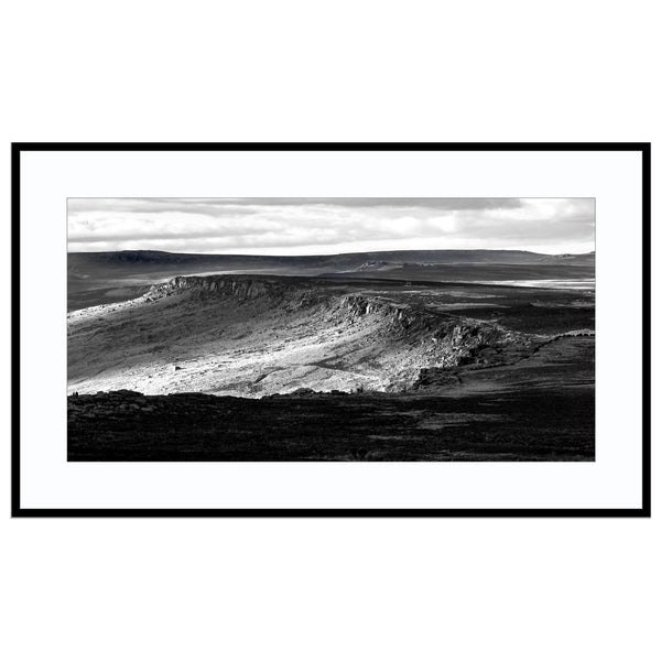 the longest edge Best Sellers, Black and White, Black and White Landscape, Landscape Ph Print (Unframed)