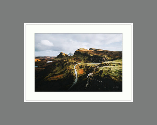 the quirang Canvas Print, Fine Art Landscape, Framed Landscape, Isle of Skye Print Canvas Print - Ready To Hang on Wall