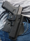 Houston RPC Thermo Molded Paddle Plastic Holster (Right Handed) for Glock