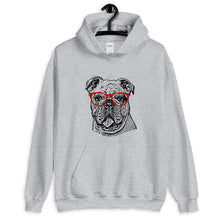 Load image into Gallery viewer, Bulldog Ink Portrait Hoodie - GoodBarks