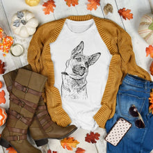 Load image into Gallery viewer, Custom Ink Portrait Dog Shirt - GoodBarks
