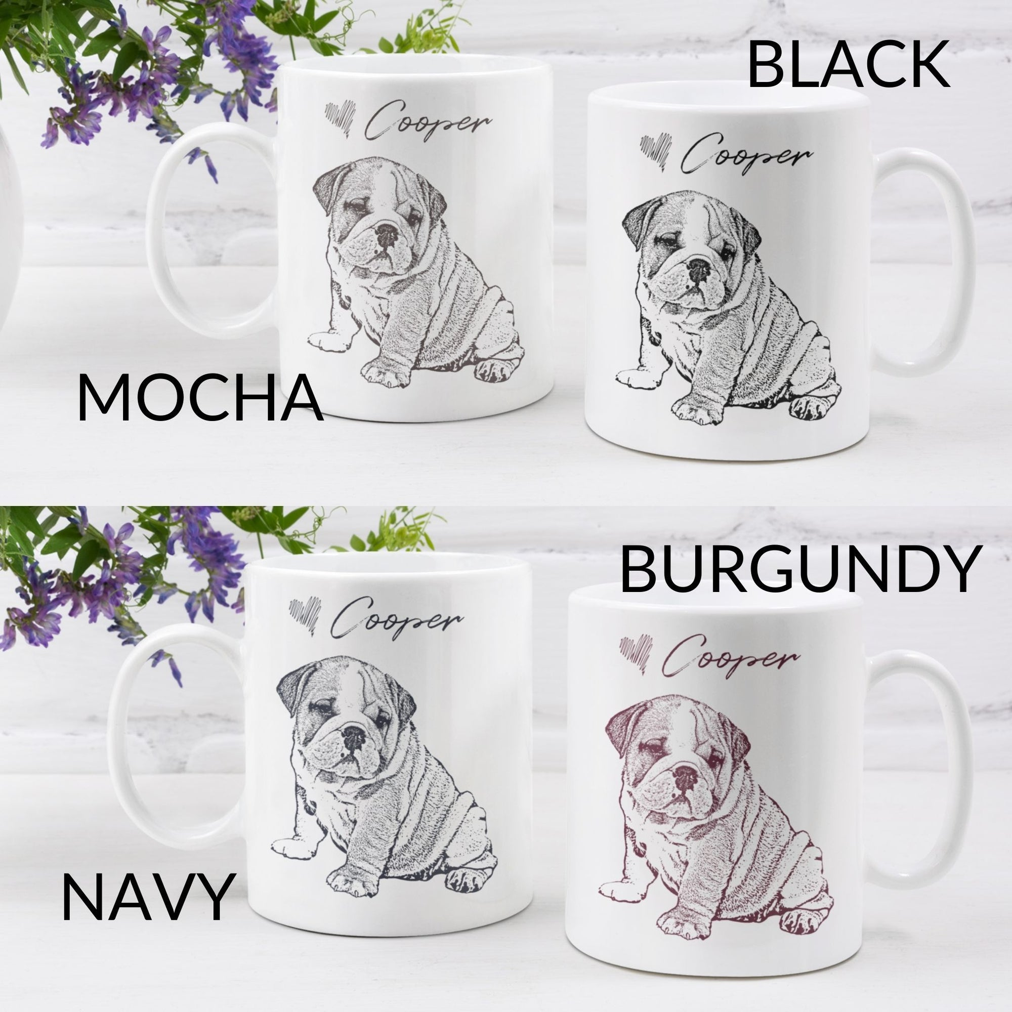 Custom Ink Portrait Mug - GoodBarks