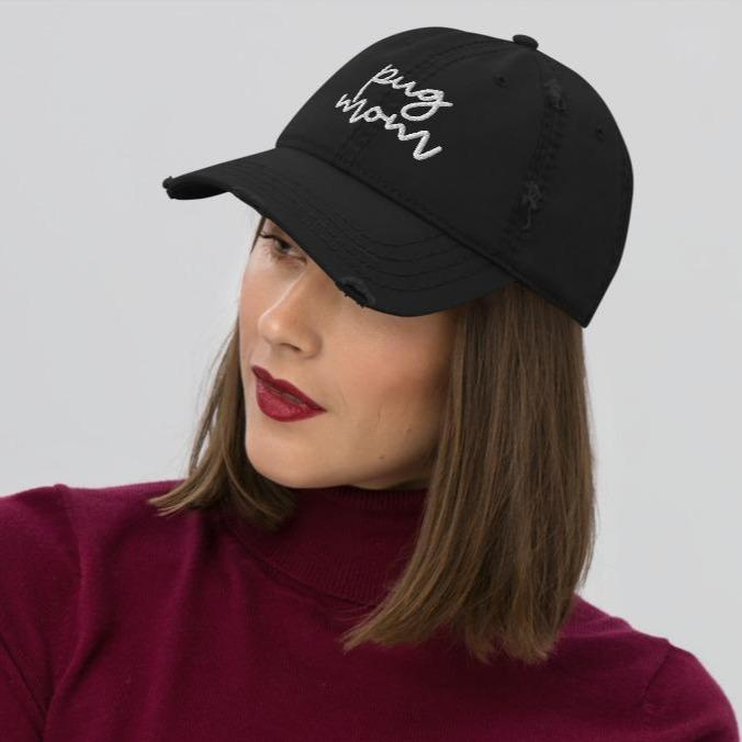 Distressed Cap - Dog Mom - GoodBarks