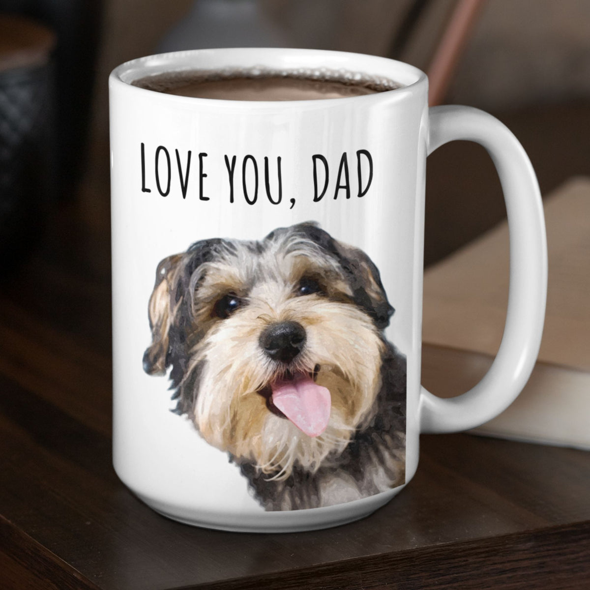 GoodBarks Personalized Peekaboo Mug - GoodBarks