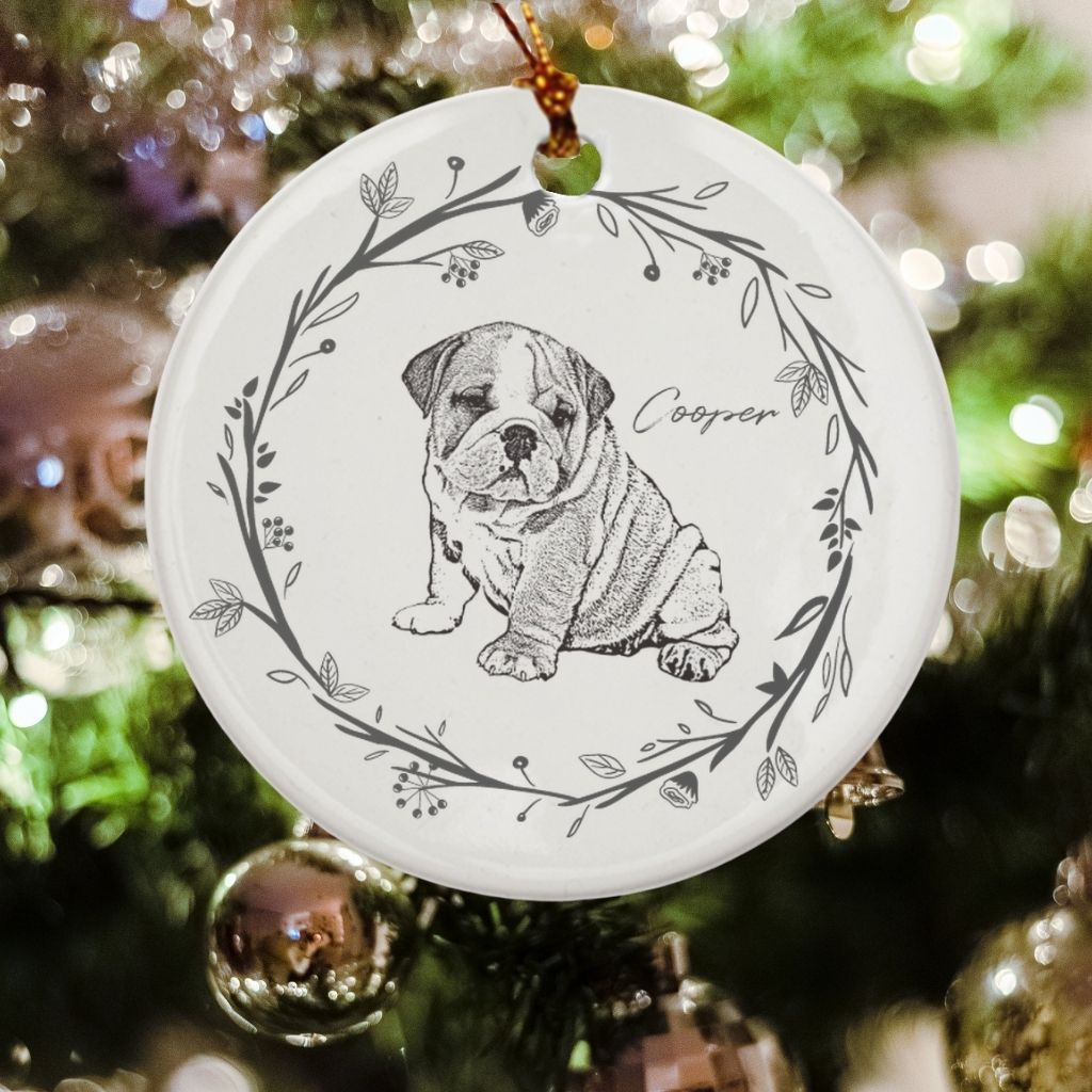 Personalized Ceramic Ornament - GoodBarks