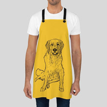 Load image into Gallery viewer, Personalized Ink Portrait Apron - GoodBarks