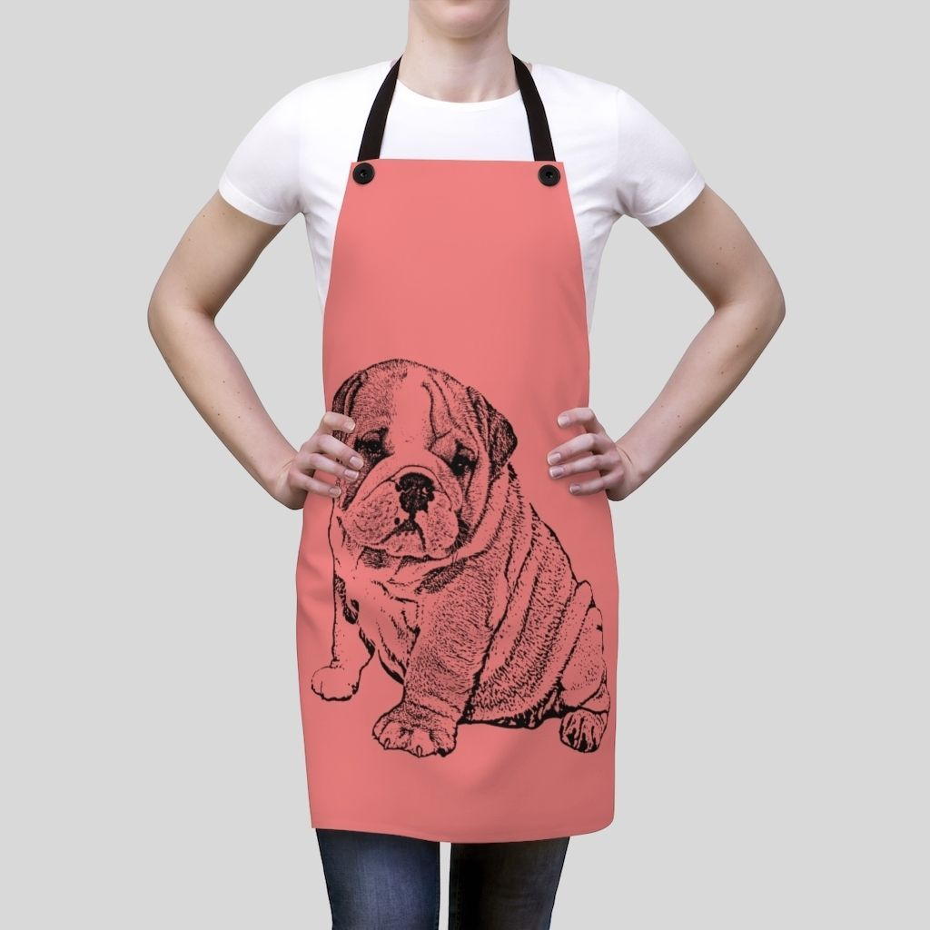 Personalized Ink Portrait Apron - GoodBarks