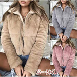 2018 Winter New Arrival Plush Thick Coat