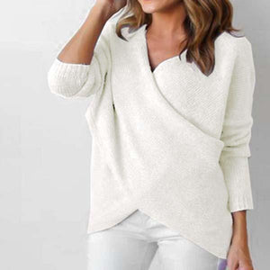 Pullover Wrap Sweater
