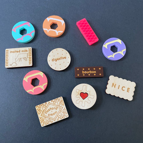 Biscuit badges