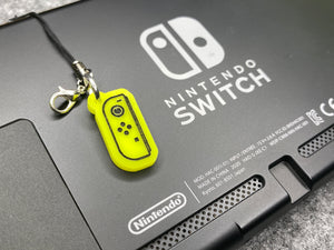 Joy-Con Controller Neon Yellow Switch charm