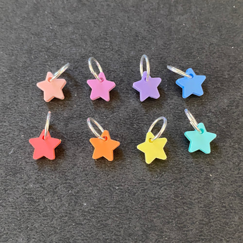 Small Star Stitch Markers