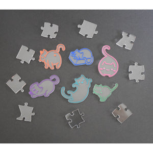 100+ piece Cat puzzle - very difficult!