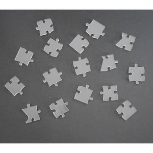 100 piece/225 piece clear acrylic puzzle - very difficult!