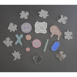 100+ piece Craft themed puzzle - very difficult!