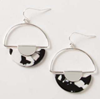 Load image into Gallery viewer, Bandana Babe Circle Earrings