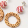Nautical Circle Earrings