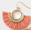 Paradise Raffia Earrings