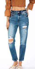 KanCan Kate High Rise Mom Jean