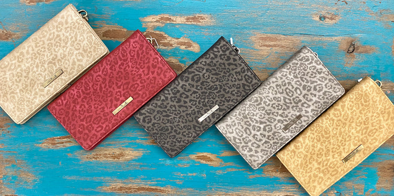 Luxe Leopard Wallet by Simply Noelle