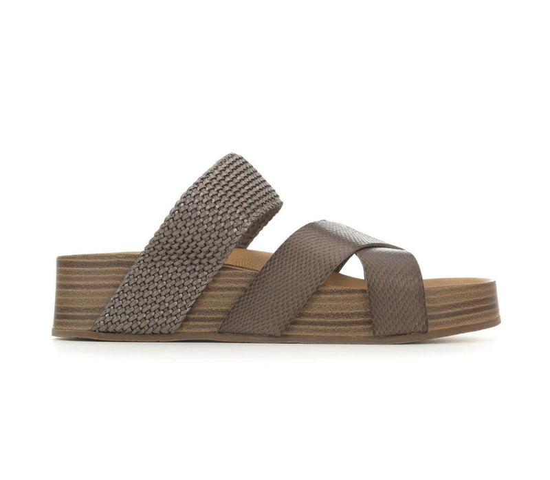 Blowfish Miri Steel Grey Amazon/ Pewter Meteorite Sandals