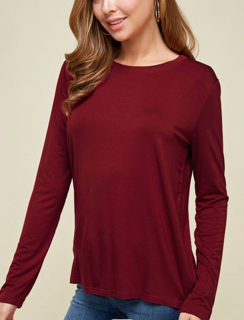 Emma's Closet Long Sleeve Modal Top