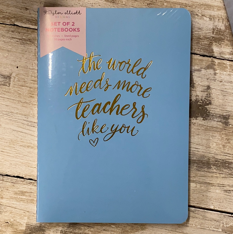 Set of 2 Teacher Notebooks