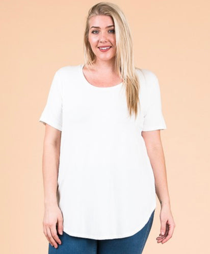 Emma's Closet Plus Size Scoop Neck