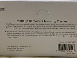 Cucumber Makeup Remover Cleansing Tissues