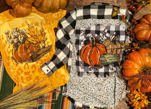 Load image into Gallery viewer, Hand Drawn Pumpkin Tee