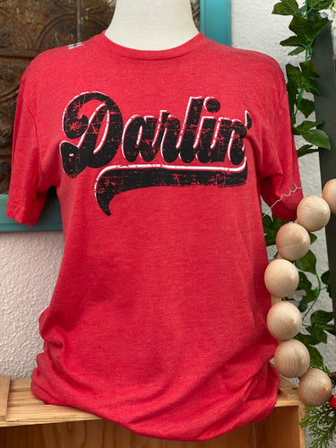 Vintage Red Darlin Tee