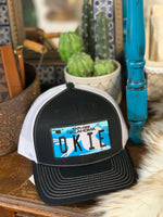 OKIE License Plate Trucker Hat