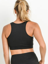 Load image into Gallery viewer, Mesh Racerback Sports Bra