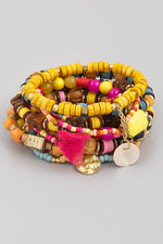 Assorted Beaded Bracelet Set