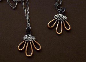 Black-Eyed Susan Necklace