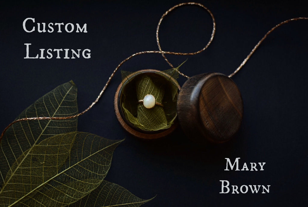 Custom Listing for Mary Brown