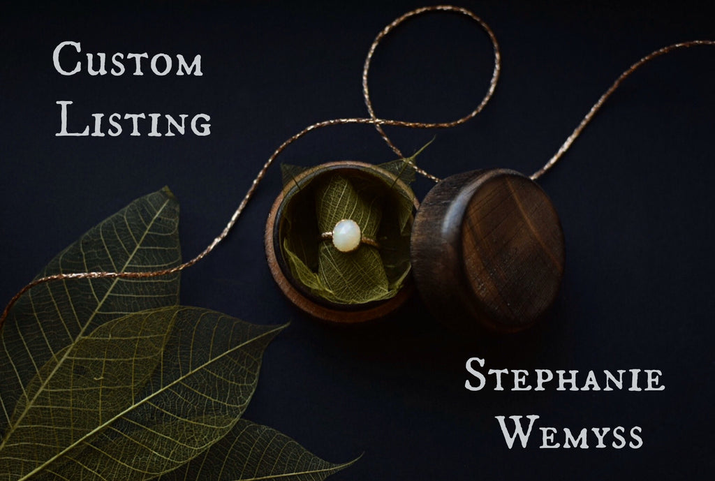 Custom Listing - Stephanie Wemyss