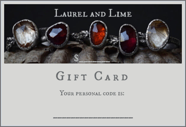 Laurel and Lime Digital Gift Card