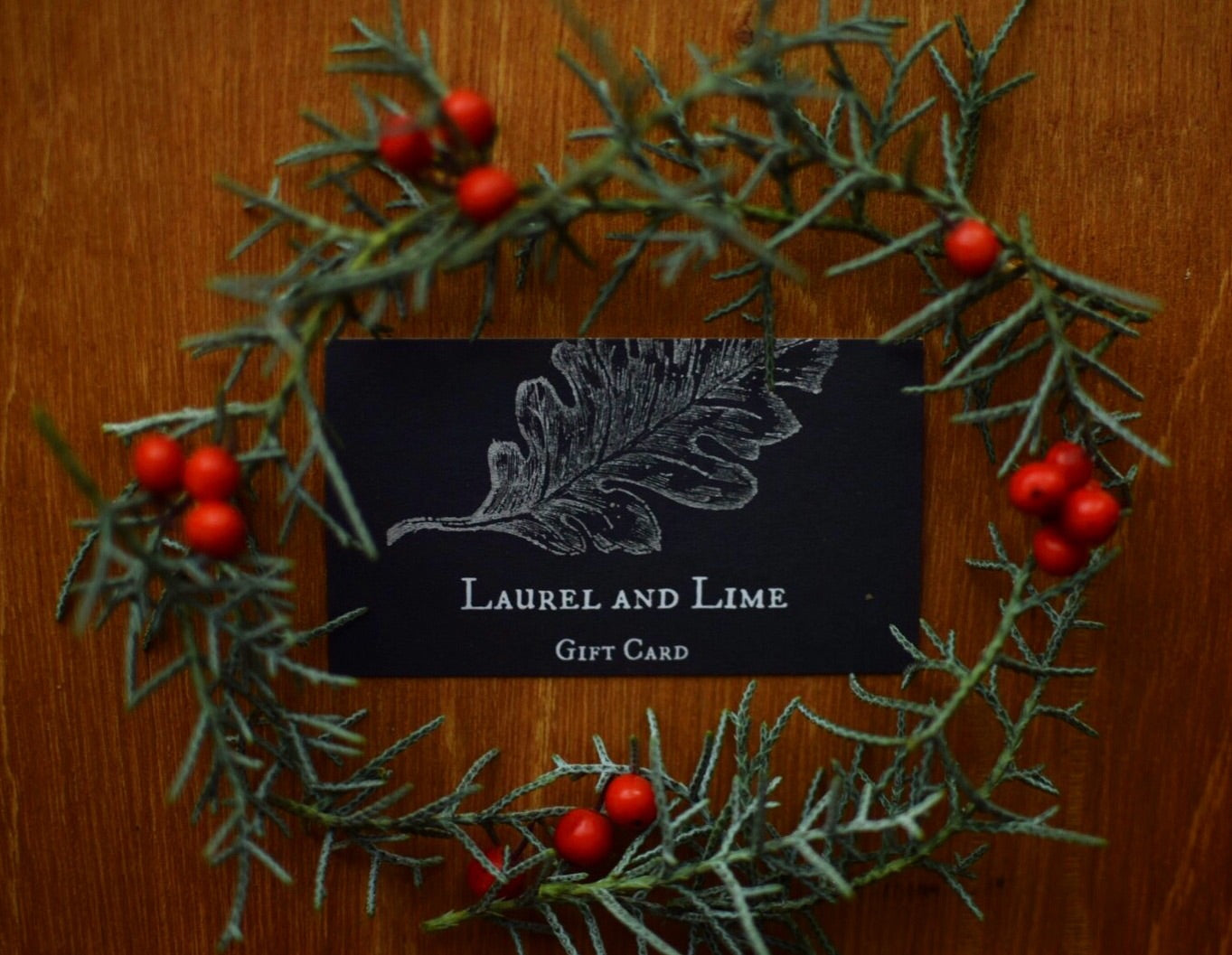 Laurel and Lime Gift Card