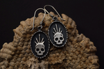Crowned Skull Dangles