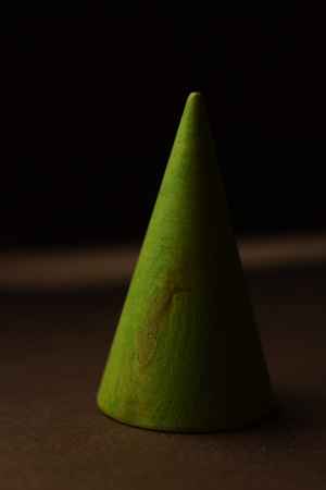 Tree Ring Cone - Lime Green