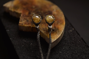 Golden Rutilated Quartz Dangles
