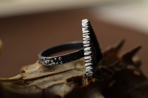 Fern Shrine Rings - Size 6, 7.5, 8.5