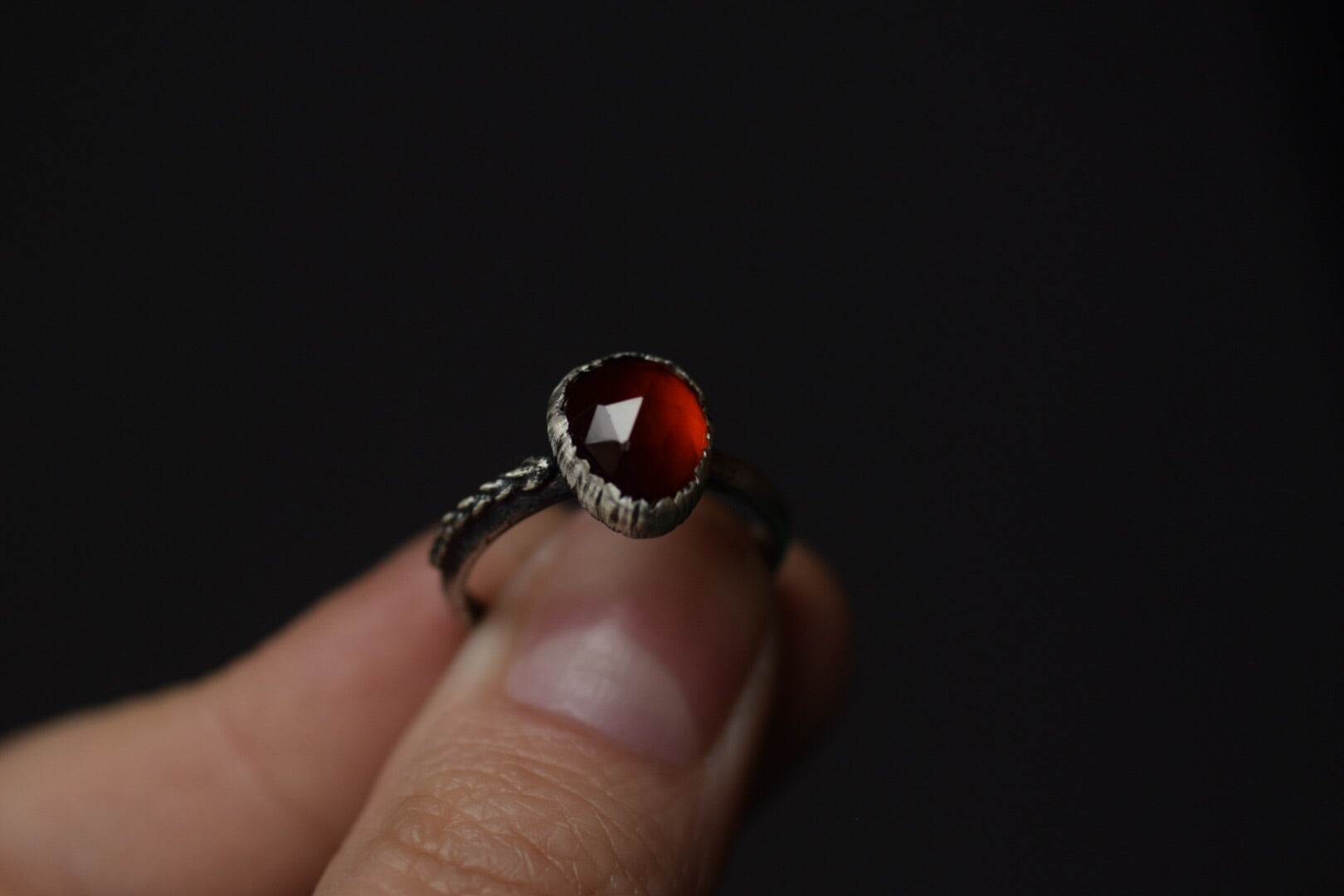 Hessonite Garnet - Size 7