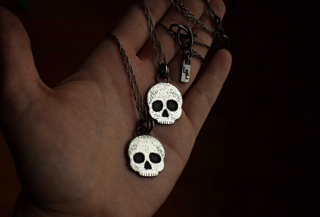 Skull Layering Necklace