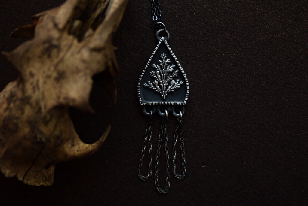 Fern Shrine Necklace