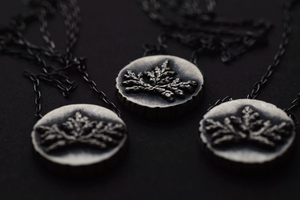 Fern Bouquet Necklace