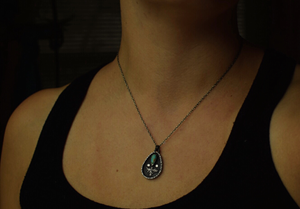 Turquoise Fern Everyday Necklace
