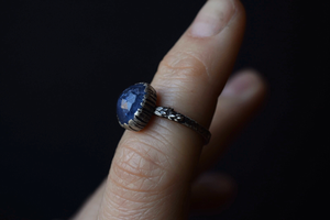 Tanzanite Fern Ring - Size 5