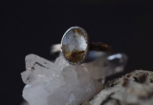 Golden Rutilated Quartz - Size 6.5